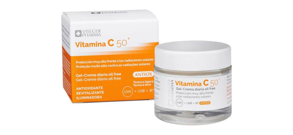 viseger pharma vitamina c 50 mercadona 1024x473 - Crema facial con vitamina C y FPS 50+ Mercadona