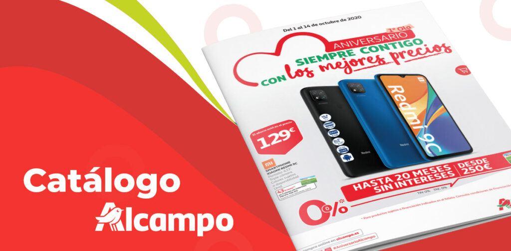 aniversario alcampo folleto 1024x503 - Folleto Alcampo del 1 al 14 octubre