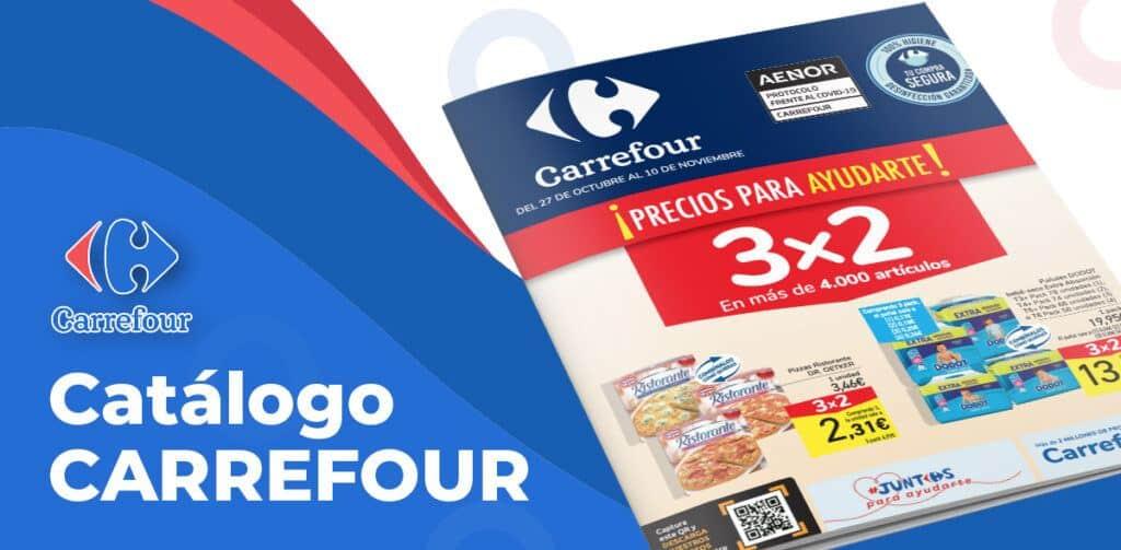 carrefour3x2octubr 1024x503 - Catálogo Carrefour 3x2 del 27 octubre al 10 noviembre