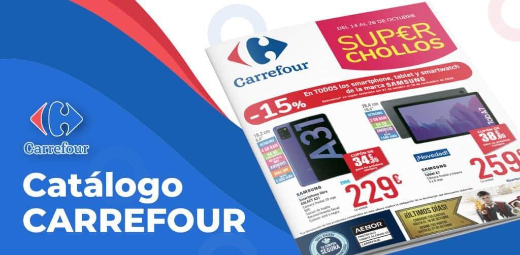 chollos carrefour 1024x503 - Folleto Carrefour Super Chollos del 14 al 26 octubre