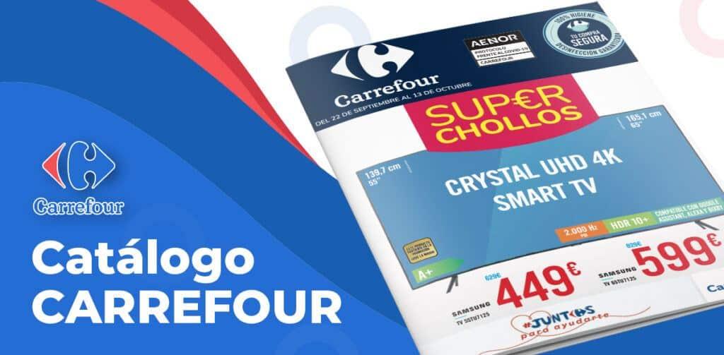 chollos carrefour octubre 1024x503 - Catálogo Super Chollos en Carrefour hasta el 13 octubre