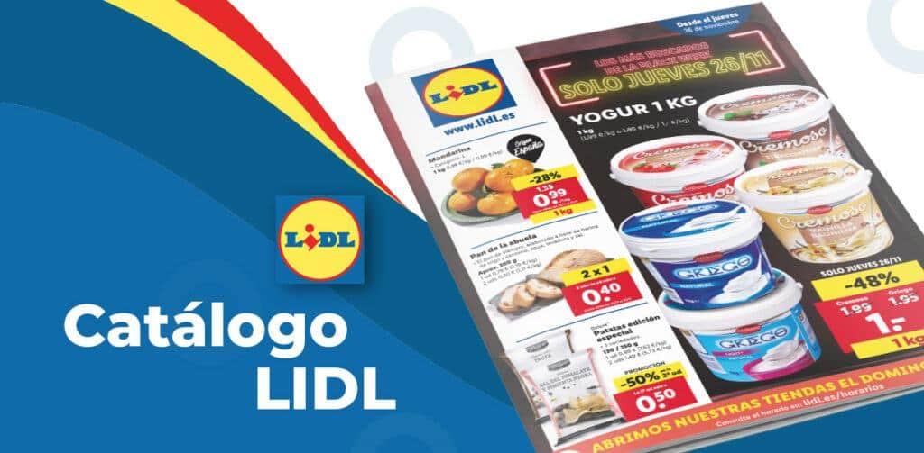 26 noviembre lidl 1024x503 - Catálogo Lidl de alimentación del 26 noviembre al 2 diciembre