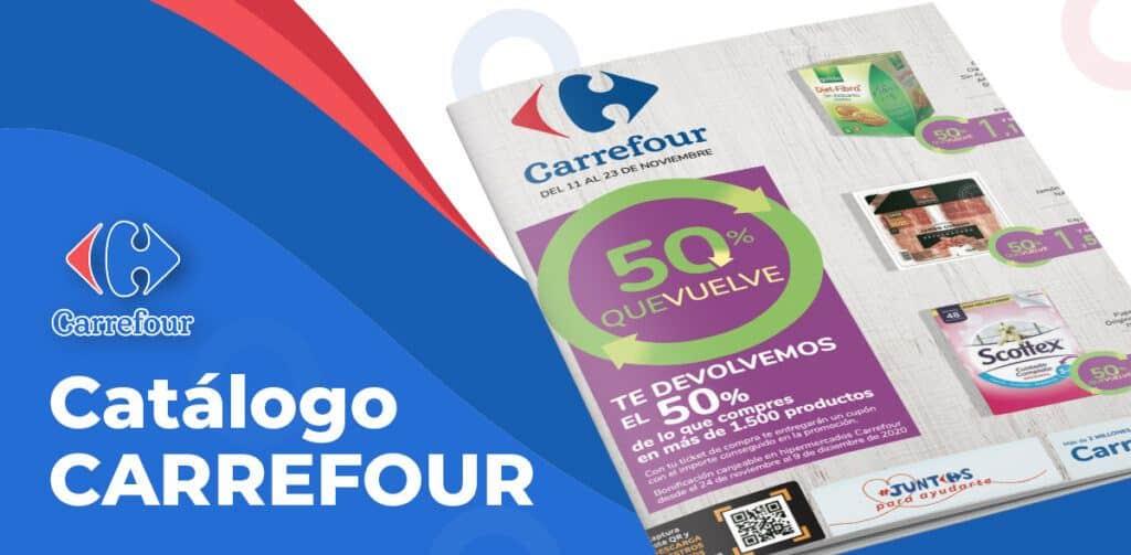 CARREFOUR 50 FOLLETO 1024x503 - Catálogo Carrefour 50% del 11 al 23 noviembre