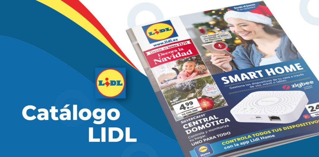 LIDL articulos domotica 1024x503 - Catálogo artículos Lidl del 19 al 25 noviembre