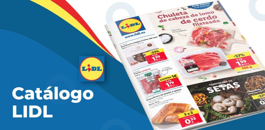 folleto alimentacion lidl 12 noviembre 1024x503 - Catálogo Lidl de alimentación del 12 al 18 noviembre