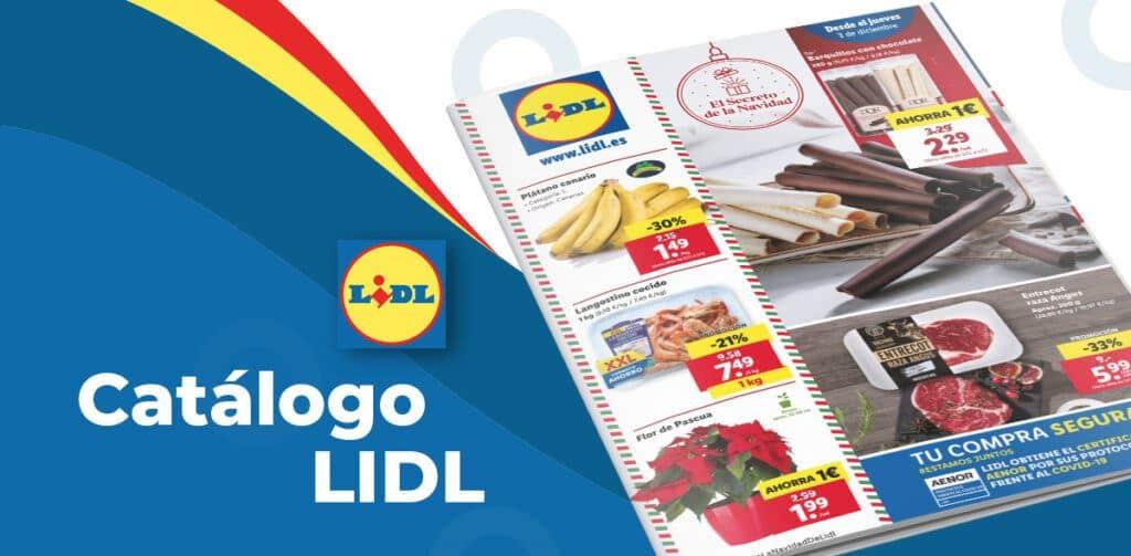lidl alimentacion 3 diciembre 1024x503 - Catálogo alimentación Lidl del 3 al 9 diciembre