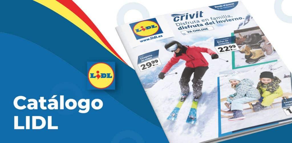 lidl esqui ofertas catalogo 1024x503 - Catálogo artículos Lidl del 12 al 18 noviembre
