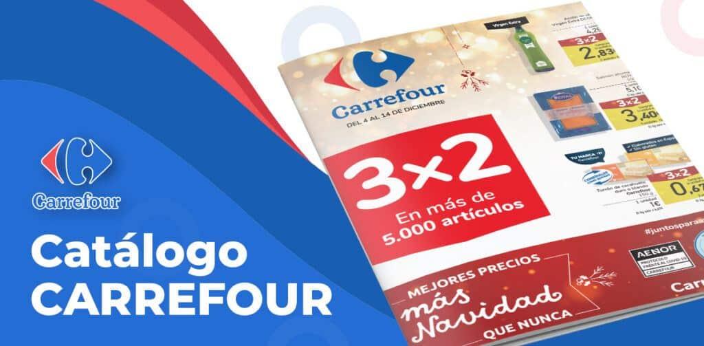 CARREFOUR 4 diciembre 1024x503 - Catálogo Carrefour 3x2 del 4 al 14 diciembre