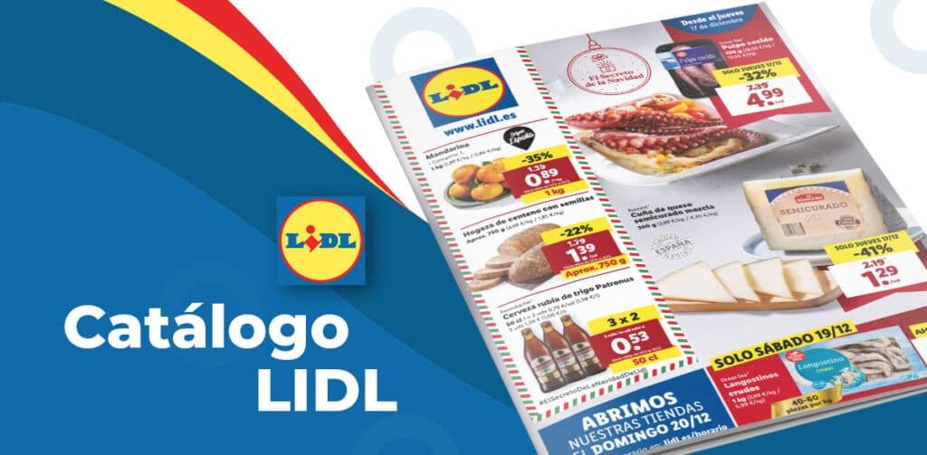 LIDL alimentacion 17 diciembre 1024x503 - Catálogo alimentación Lidl del 17 al 23 diciembre