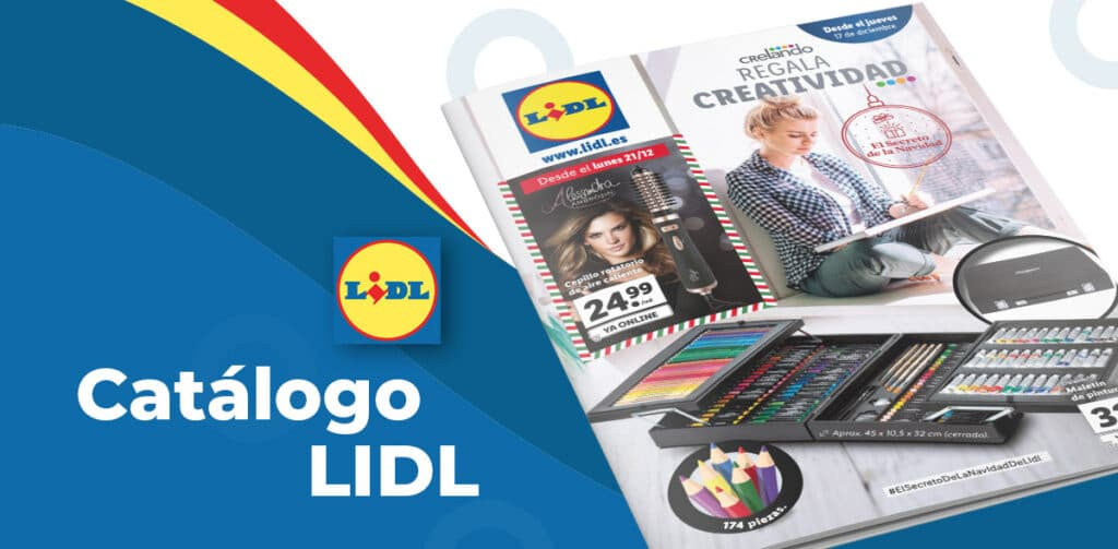 catalogo articulos lidl 17 diciembre 1024x503 - Catálogo artículos LIDL del 17 al 23 de diciembre