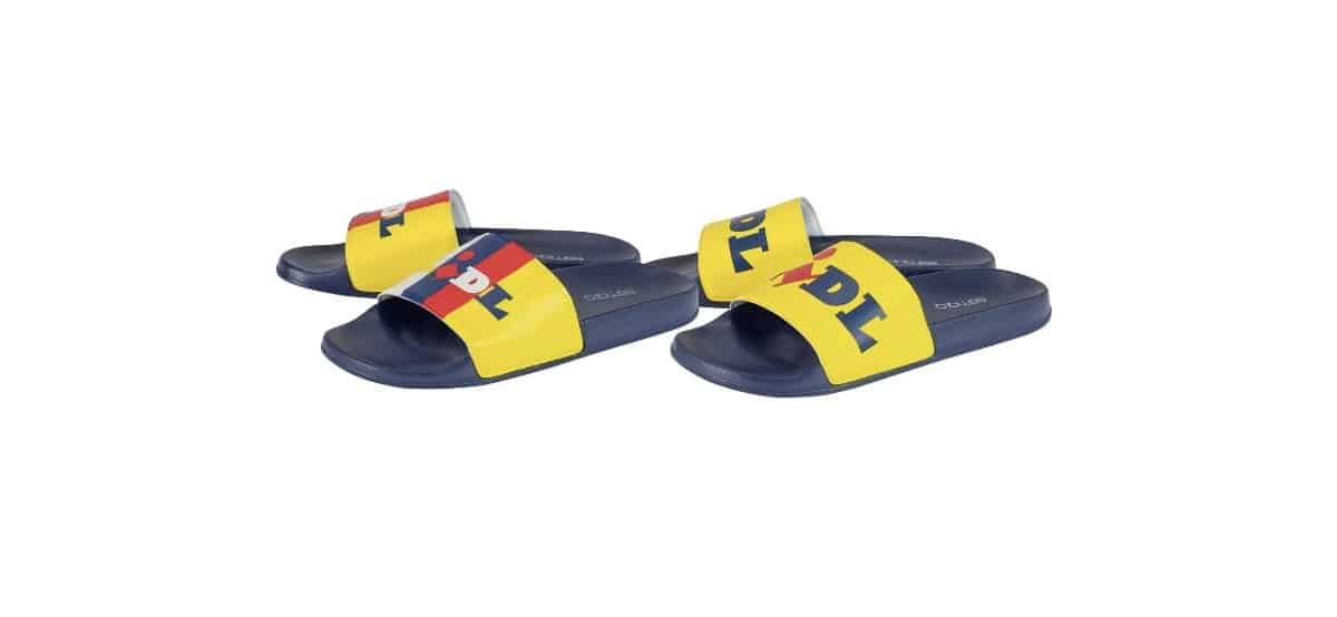 chanclas lidl mujer
