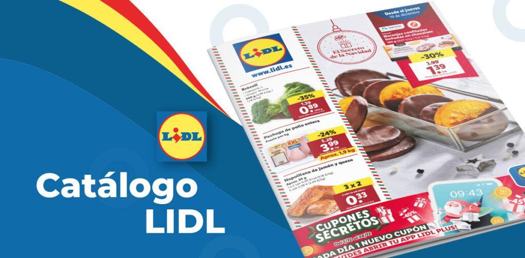 folleto lidl 10 diciembre 1024x503 - Catálogo Lidl de alimentación del 10 al 16 diciembre
