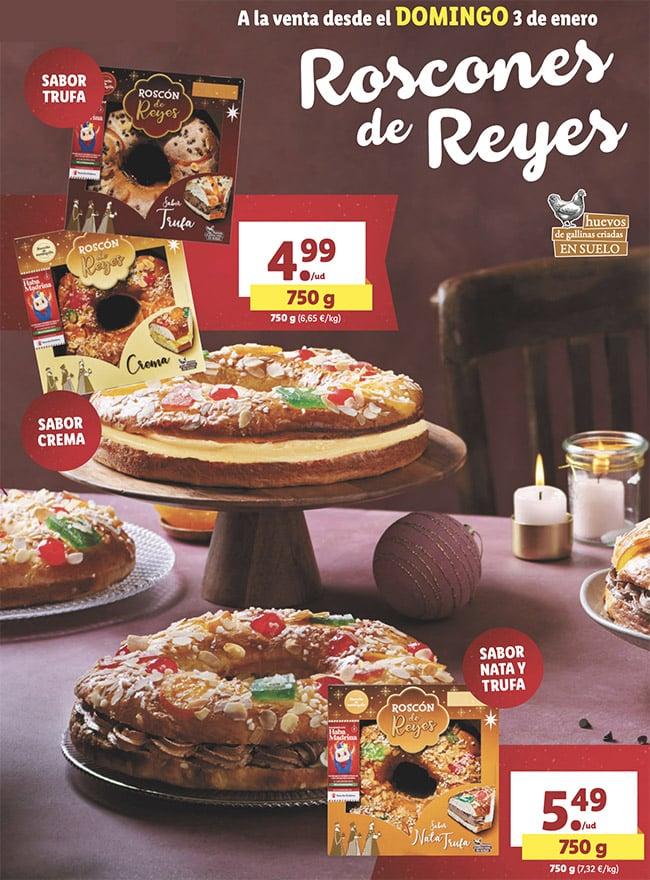 roscones lidl oferta - Catálogo LIDL alimentación a partir 30 Diciembre