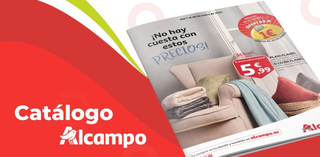 folleto alcampo rebajas enero 1024x503 - Catálogo Alcampo del 7 al 20 de enero