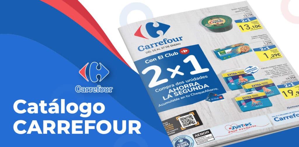 folleto carrefour enero descuentos 1024x503 - Folleto Carrefour 2x1 del 15 al 27 de enero