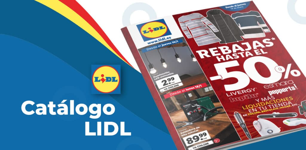 folleto lidl rebajas enero 1024x503 - Catálogo LIDL rebajas del 14 al 20 de enero
