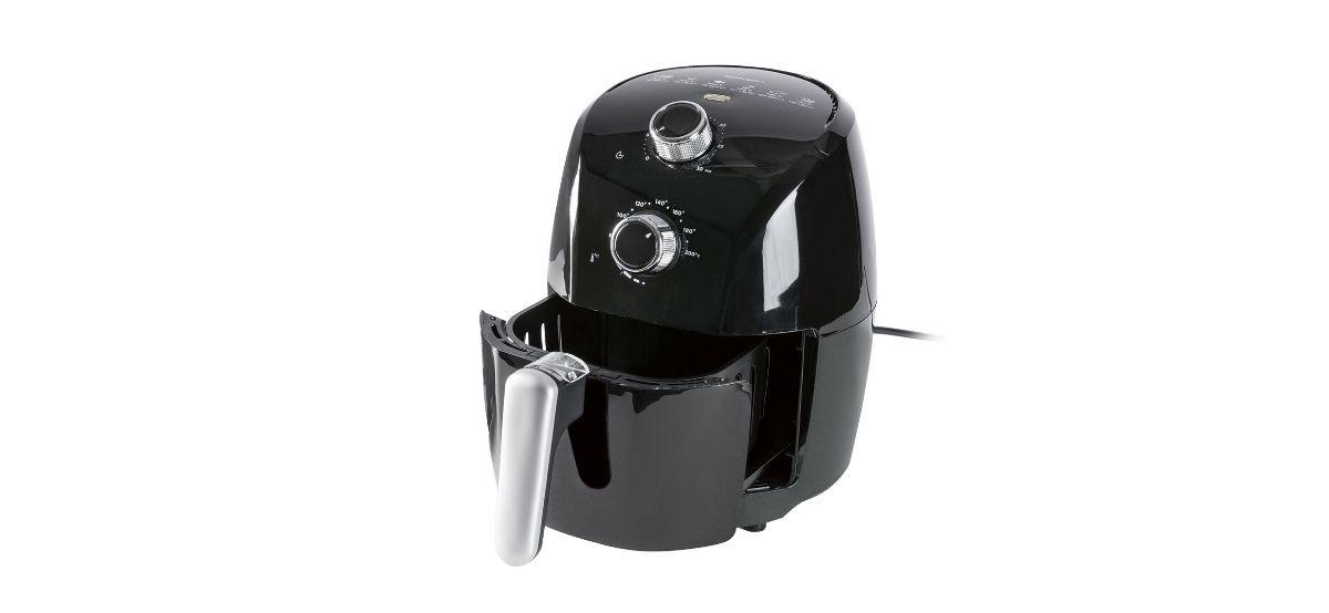 freidora de aire caliente 1500w de lidl