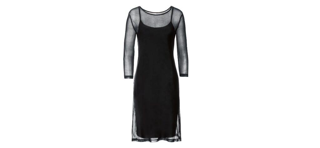 vestido negro lidl 1024x473 - Vestido negro para mujer de LIDL
