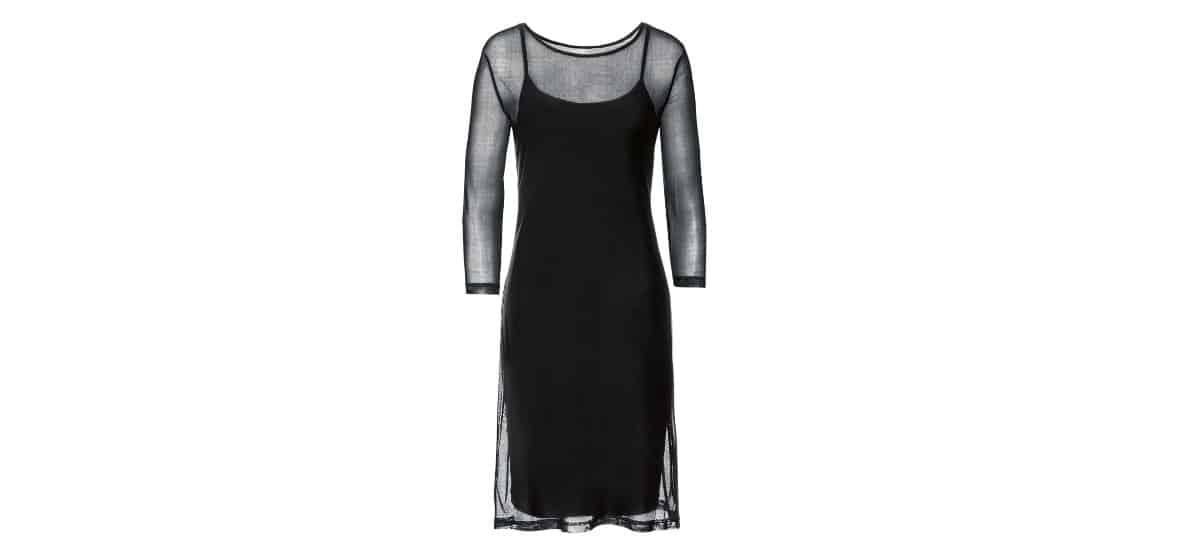 vestido negro lidl