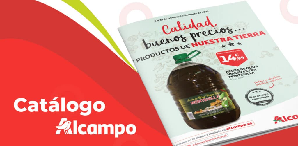 ALCAMPO folleto febrero 1024x503 - Catálogo Alcampo del 18 de febrero al 3 de marzo
