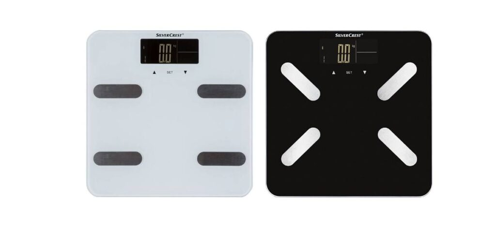 bascula medicion grasa corporal lidl 1024x473 - Báscula con medición de grasa corporal en Lidl