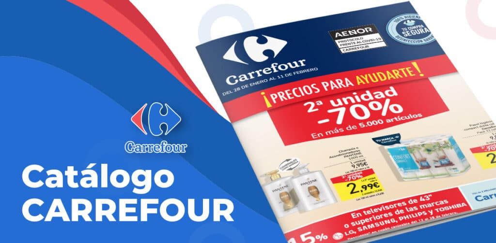 carrefour 28 enero 1024x503 - Carrefour 2 unidad al -70% hasta el 11 febrero