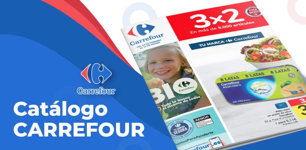 carrefour 3x2 folleto 1024x503 - Catálogo Carrefour 3x2 del 24 febrero al 11 de marzo