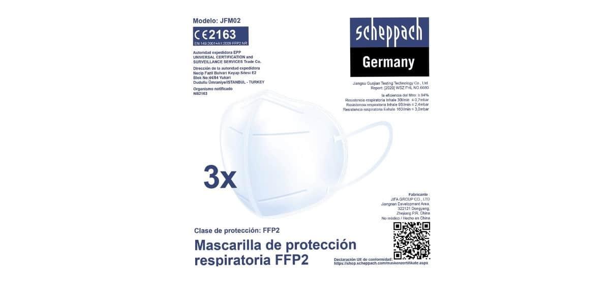 mascarilla de proteccion ffp2 lidl