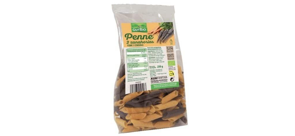 pasta de zanahoria ecologica de aldi