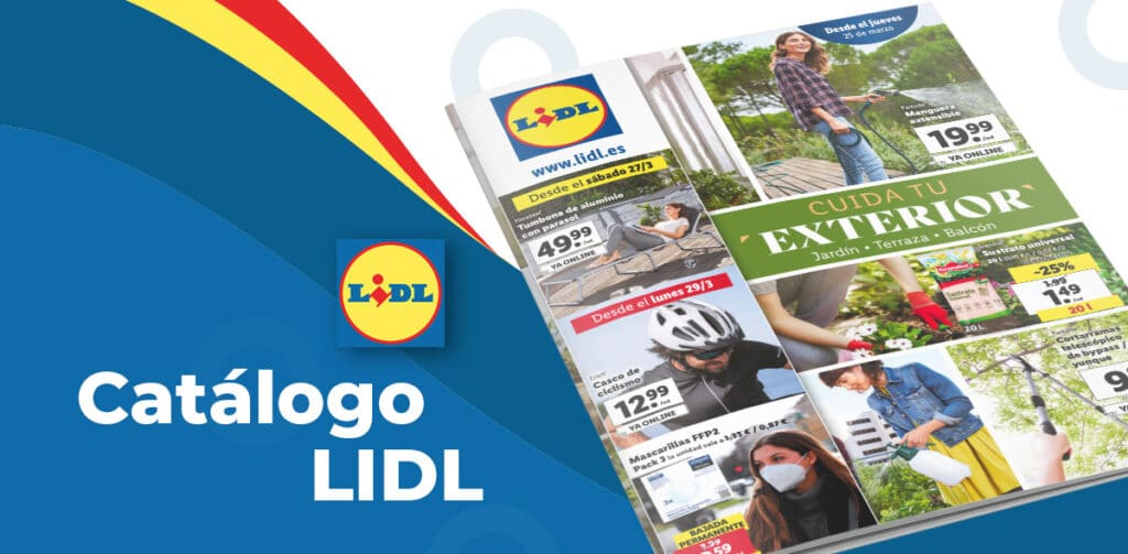 LIDL JARDIN catalogo folleto 1024x503 - Catálogo LIDL de artículos del 25 al 31 de marzo