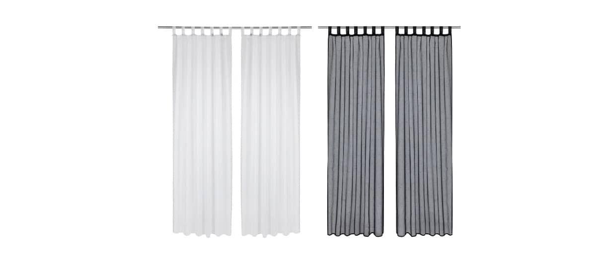 juego de cortinas en lidl
