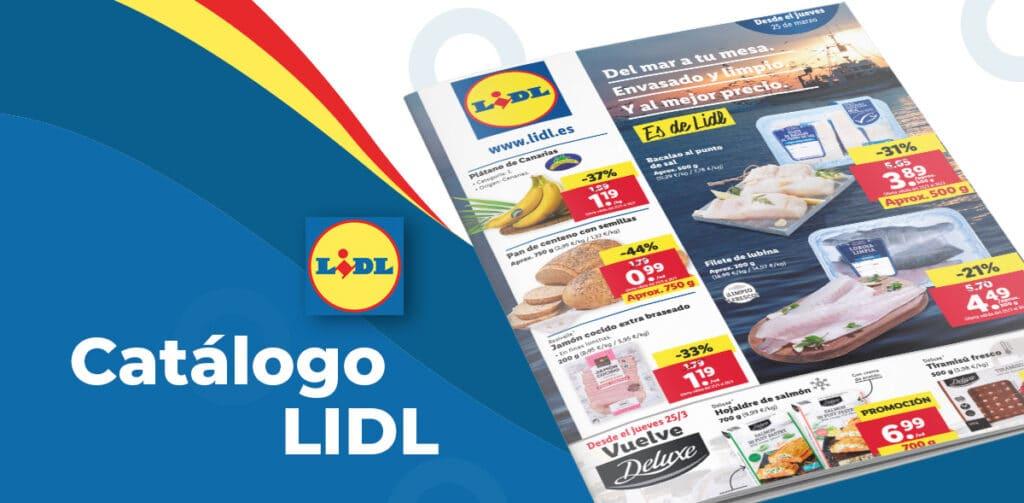 lidl alimentacion 25 marzo 1024x503 - Catálogo alimentación en LIDL del 25 al 31 de marzo