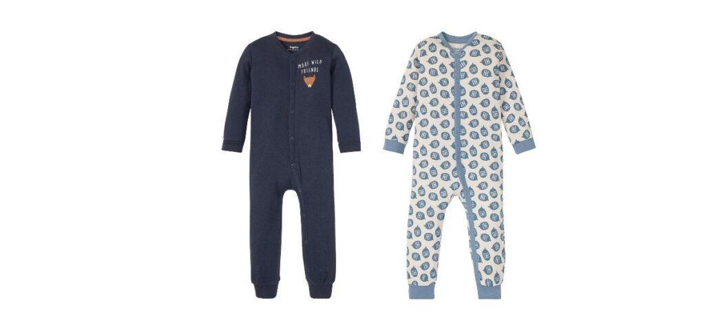 pijama entero 100 algodon bebe 1024x473 - Pijama de algodón para bebé en Lidl