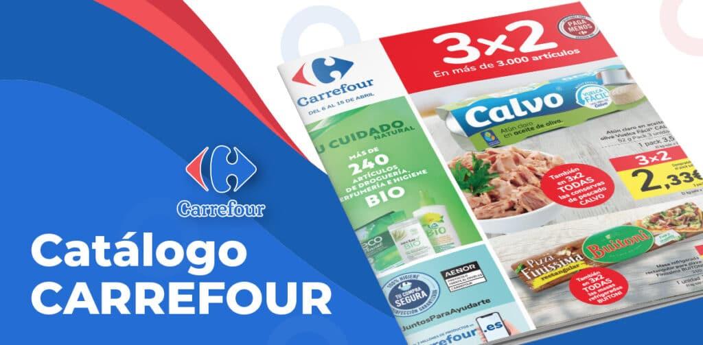 carrefour 6 abril folleto 1024x503 - Folleto Carrefour 3x2 del 6 al 15 abril