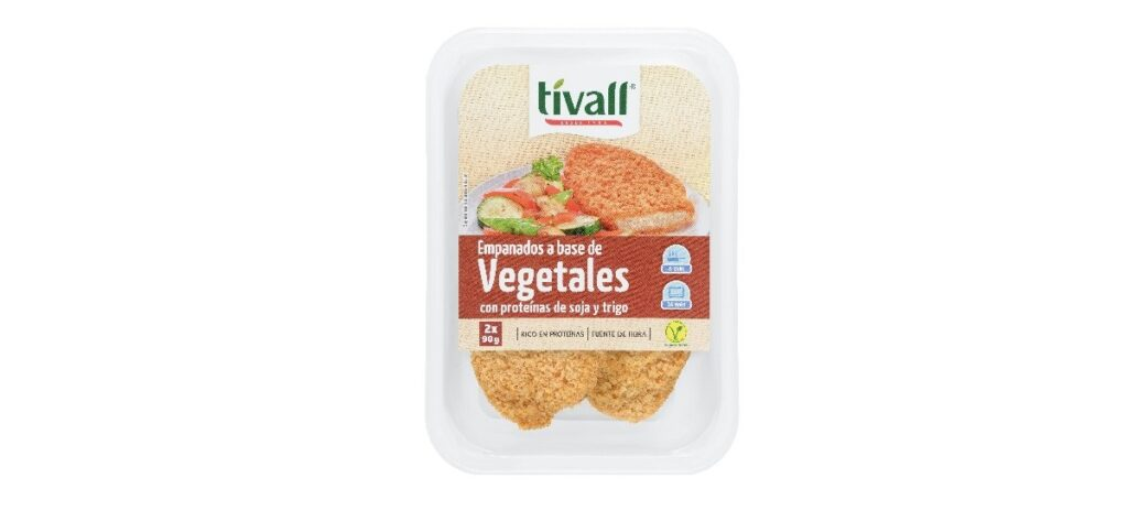 filetes empanados vegetales tivall 1024x473 - Filetes empanados a base de vegetales Tivall en Mercadona