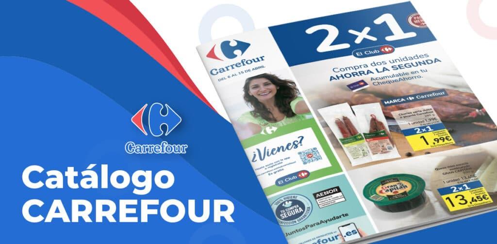 folleto carrefour 2por1 bril 1024x503 - Folleto Carrefour 2x1 del 6 al 15 de abril