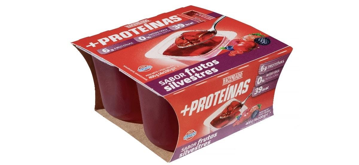 gelatina con mas proteinas de frutos silvestres hacendado mercadona