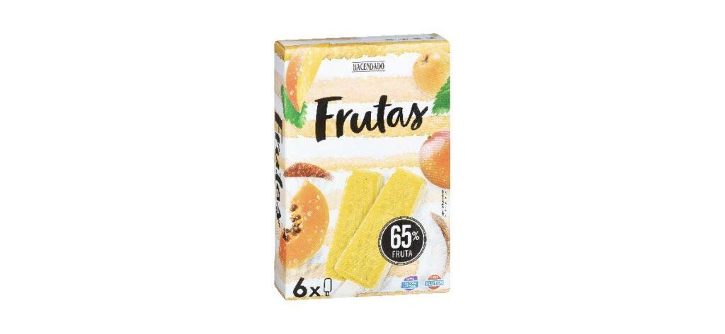 helado de frutas mercadona