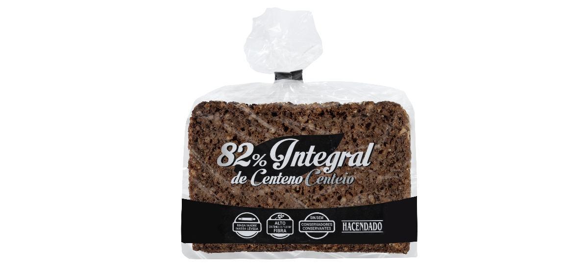 pan integral de centeno hacendado en mercadona