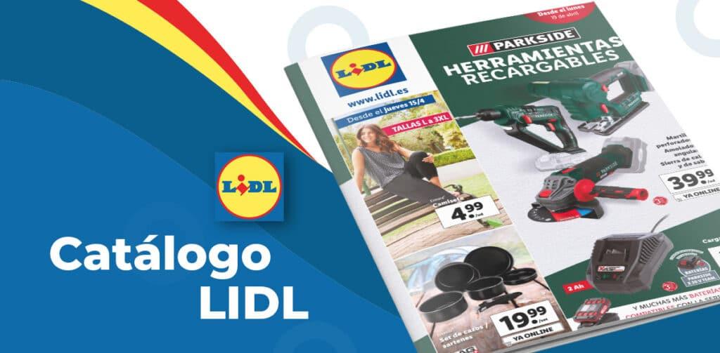 parkside lidl folleto 1024x503 - Catálogo artículos de Lidl del 15 al 21 de abril