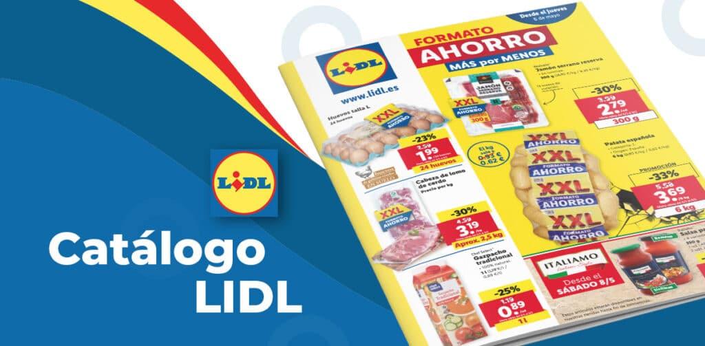 LIDL folleto alimentacion 6 mayo