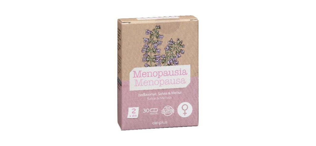 capsulas menopausia deliplus mercadona salvia melisa e isoflavonas 1024x473 - Cápsulas Menopausia con isoflavonas, salvia y melisa en Mercadona