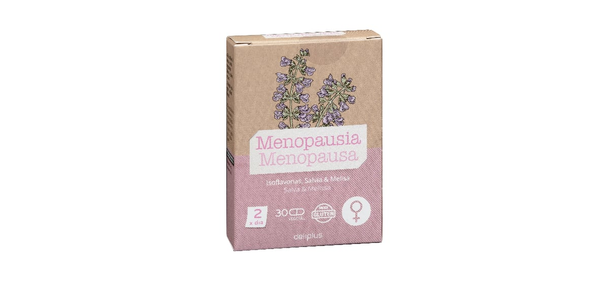 capsulas menopausia deliplus mercadona salvia melisa e isoflavonas