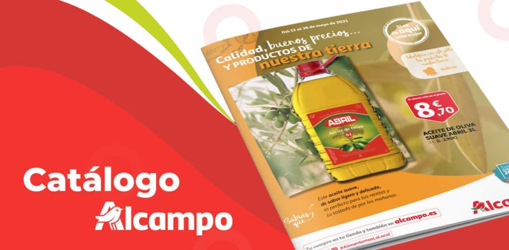 catalogo alcampo folleto 1024x503 - Catálogo Alcampo del 13 al 26 de mayo