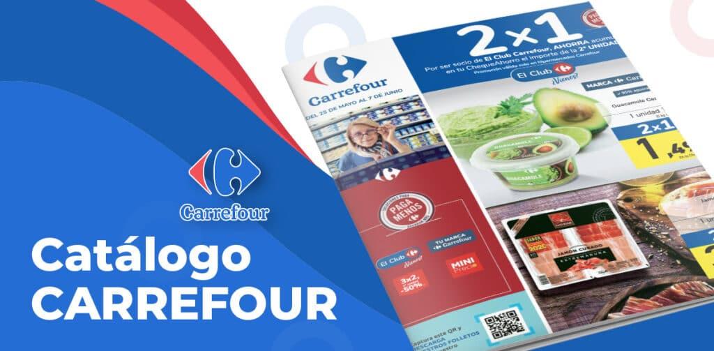 folleto carrefour 2x1 junio 1024x503 - Folleto CARREFOUR 2x1 del 25 mayo al 7 junio