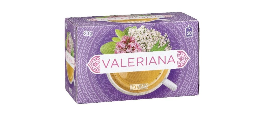 infusion valeriana hacendado en mercadona 1024x473 - Infusión de Valeriana Hacendado en Mercadona