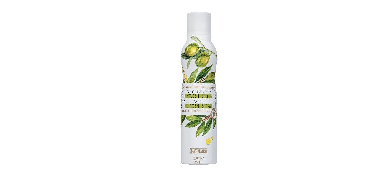 spray aceite de oliva virgen extra hacendado de mercadona