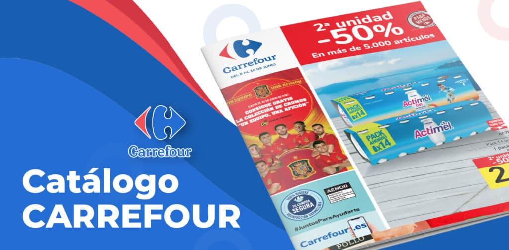 carrefour 8 junio 1024x503 - Catálogo Carrefour 2x1 del 8 al 16 junio