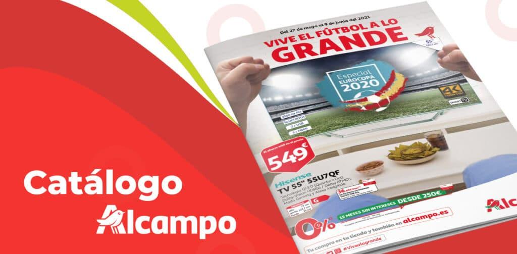 catalogo alcampo eurocopa 1024x503 - Catálogo ALCAMPO del 27 al 9 de junio