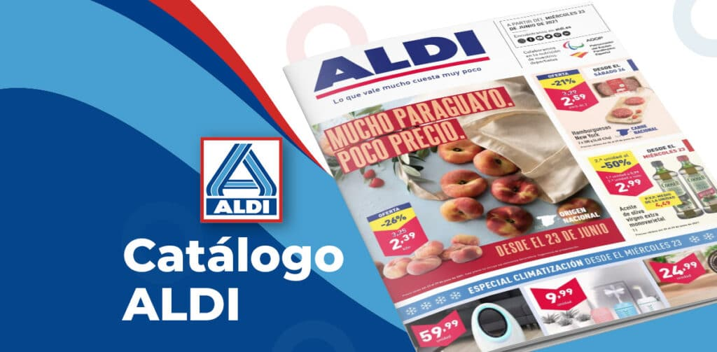 catalogo aldi 23 junio 1024x503 - Catálogo ALDI del 23 al 29 de junio